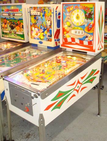Vintage Pinball Game Arcades In Cleveland Ohio