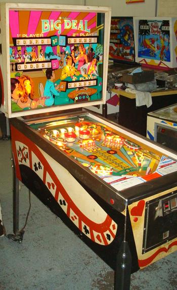 big deal pinball machine